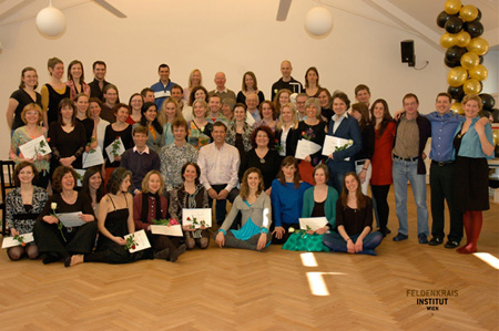 The happy group of 'Wien 5'